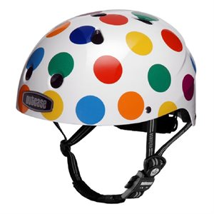 CASQUE NUTCASE LITTLE NUTTY DOTS XS BLANC