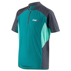 MAILLOT LG MISTRAL VENT JRM TURQUOISE