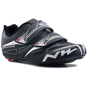 CYCLING SHOES NORTHWAVE JET EVO BLACK ROUTE / SPD