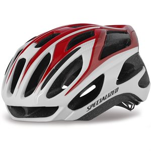CASQUE SPECIALIZED PROPERO 2 M ROUGE / BLANC