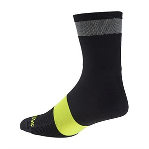 CHAUSSETTES SPECIALIZED REFLECT TALL  NOIR