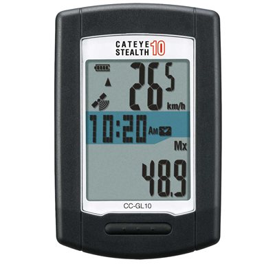 CYCLOMÈTRE CATEYE STEALTH 10 GPS