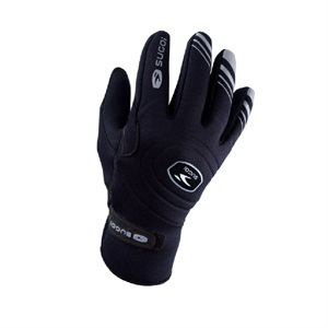 CYCLING GLOVES SUGOI RS RAIN BLACK