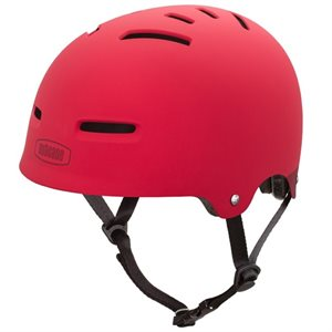 CASQUE NUTCASE ZONE ROUGE MAT