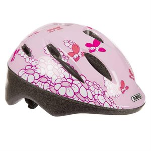 CASQUE ABUS SMOOTY ROSE PAPILLONS