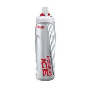 BIDON CAMELBAK PODIUM ICE 620 ML ROUGE-GRIS