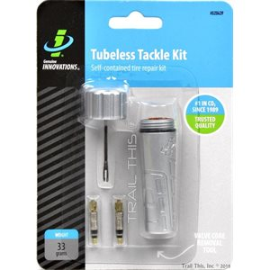 TUBELESS TACKLE KIT GENUINE INNOVATIONS