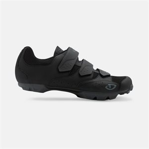 GIRO CARBIDE RII CYCLING SHOES BLACK / CHARCOAL 45