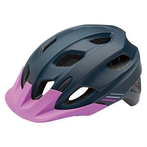 GARNEAU JUMP HELMET BLACK / PURPLE / GREY UY