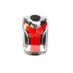 L&M VIS 180° 25 LUMENS USB REAR LIGHT