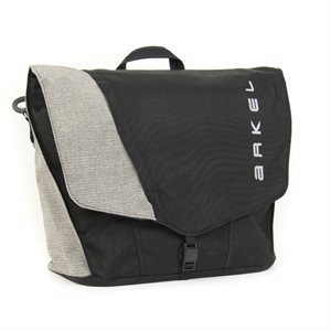 COMMUTER BAG ARKEL MALLETTE 22L BLK / GREY (SINGLE)