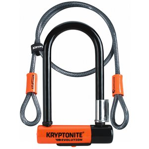 CADENAS KRYPTONITE EVOLUTION MINI-7 + CABLE 4'