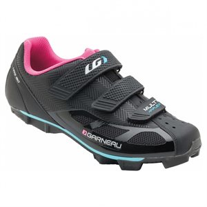 GARNEAU CYCLING SHOES MULTI AIR FLEX WOMEN BLACK / PINK